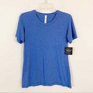 Lululemon • Blue Z3 Short Sleeve Tee Size 10
